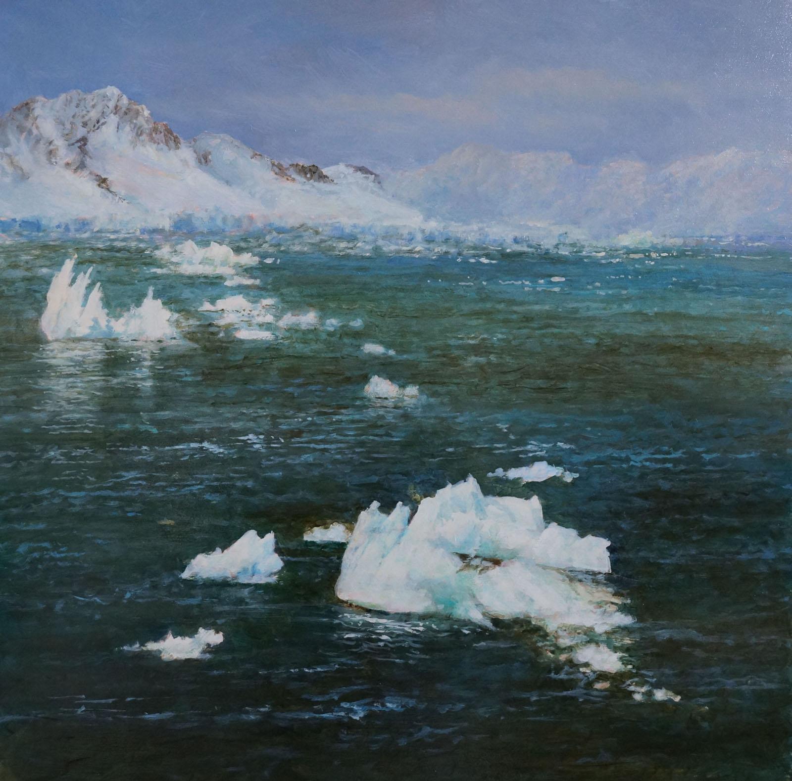 Antarctica Oil Painting