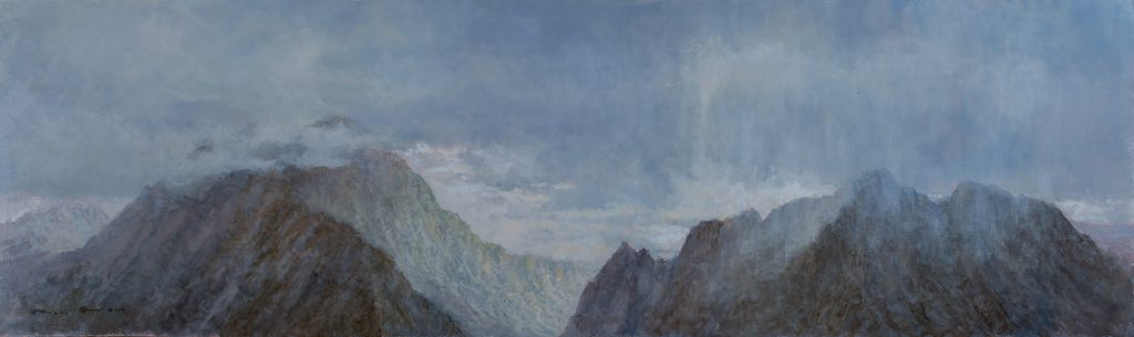 Grand Tetons Oil Painting